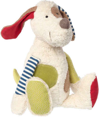 Sigikid Kuscheltier »Green Collection, Hund, 32 cm«, Made in Europe; Enthält Bio-Baumwolle