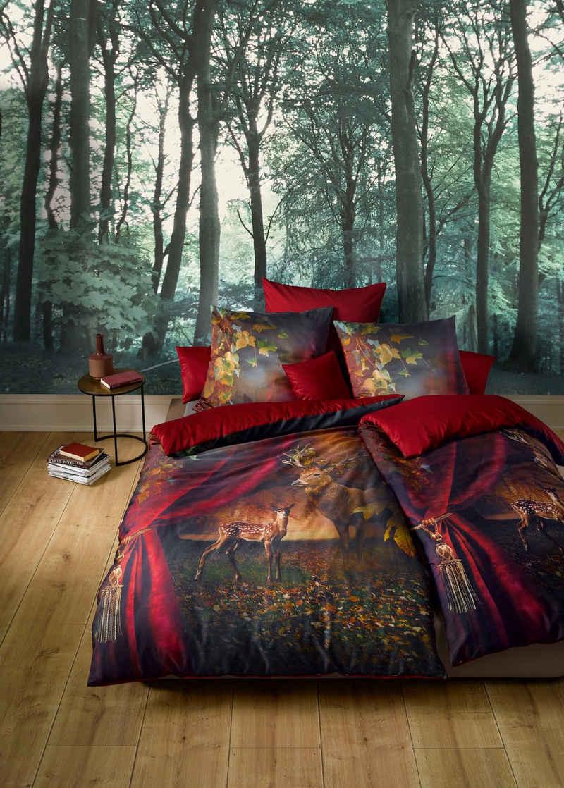 Wendebettwäsche »Bed Art S 3759«, fleuresse, Vorhang auf