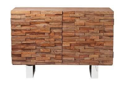 Kasper-Wohndesign  Kommode Sheesham Massivholz NABA braun | 04250385970627