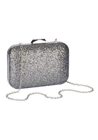 HEINE Клатч сумка с Metallic-Effekt