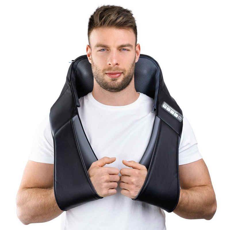 Donnerberg Nacken-Massagegerät »NM-088«, Klopfy das Massagegerät aus München mit Shiatsu und Klopfmassagefunktion, 10 Massageköpfe, 7 Jahre Garantie