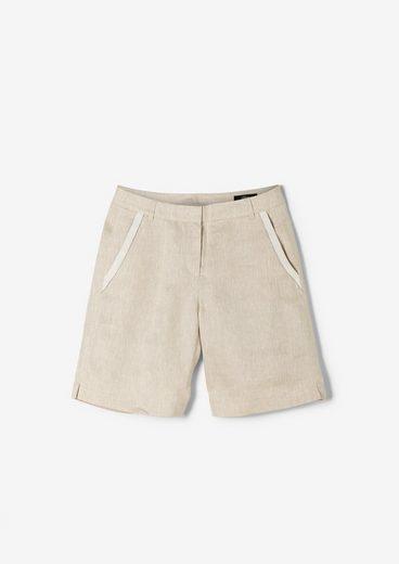 s.Oliver BLACK LABEL Shorts »Bermudashorts aus Leinen« (1-tlg)
