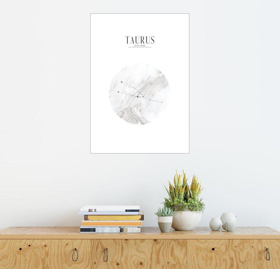 Posterlounge Wandbild - Stephanie Wünsche »TAURUS | STIER« online ...