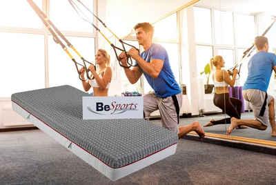 Taschenfederkernmatratze »T-Dynamic 2300 X-tra«, BeSports, 23 cm hoch, 500 Federn, Top für Rücken, Muskulatur und ihre Fitness