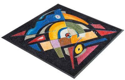 Teppich Quadratisch 130x130