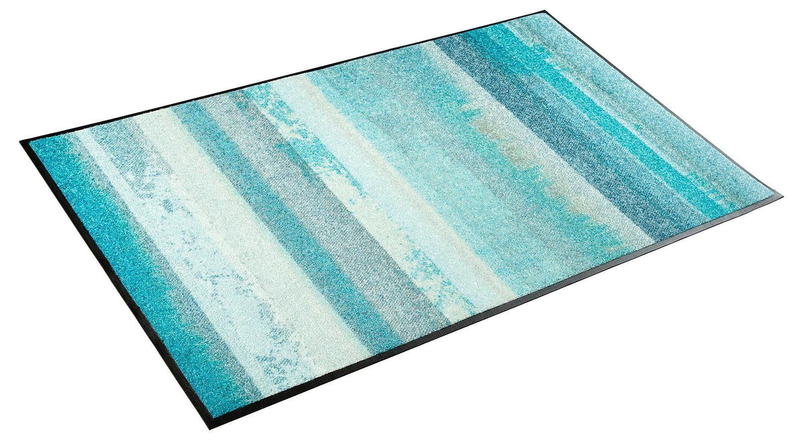 Teppich »Aquamix«, wash+dry by Kleen-Tex, rechteckig, Höhe 7 mm