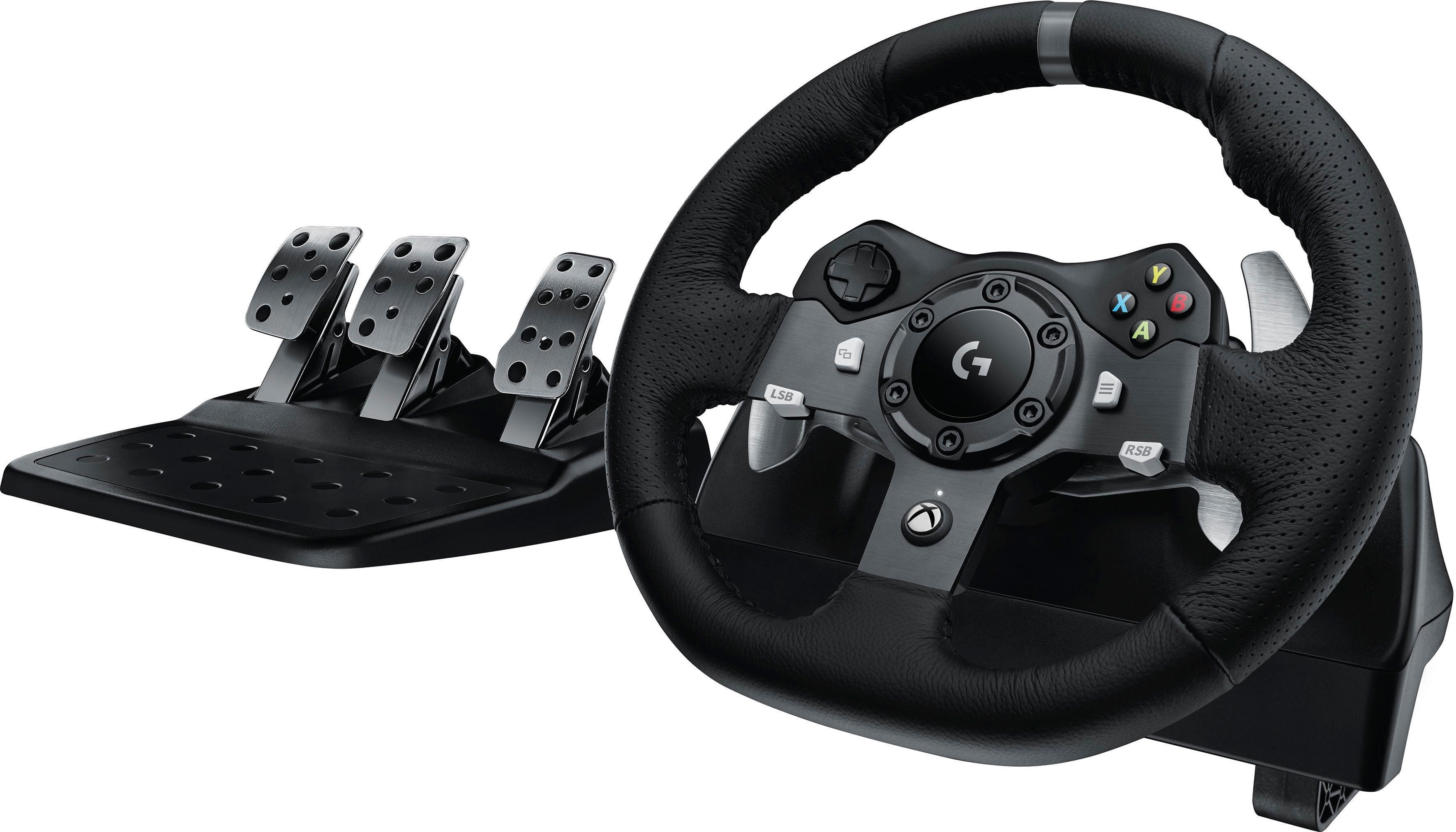 Logitech Games »G920 Driving Force Racing Wheel USB - EMEA« Gaming-Lenkrad