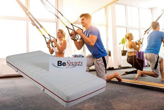 Komfortschaummatratze »HS Plus 2200«, BeSports, 22 cm hoch, Raumgewicht: 35, Top für Rücken, Muskulatur und ihre Fitness