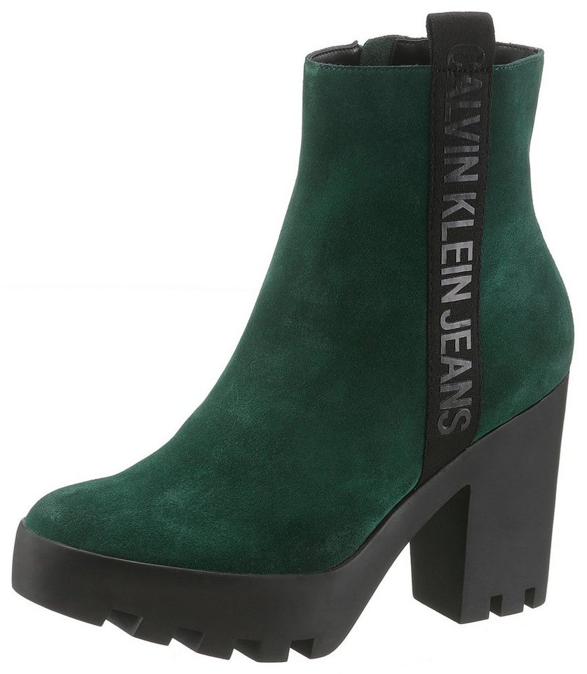 Calvin Klein »Serina« High-Heel-Stiefelette mit seitlichen Logodruck ... ef89dc9e92
