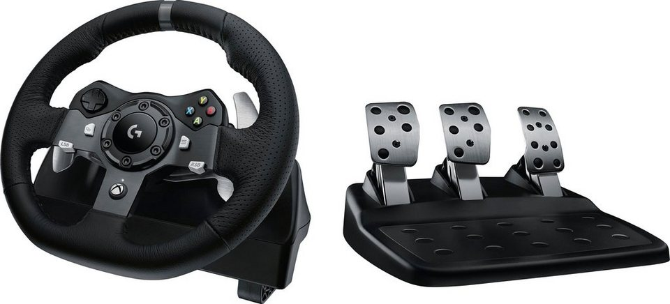 logitech g920 driving force racing wheel usb emea. Black Bedroom Furniture Sets. Home Design Ideas