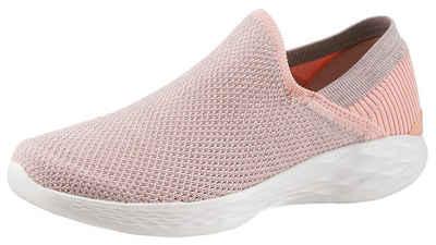 Skechers Damen Empress-Wide-Awake Slip on Sneaker, Pink, 38 EU
