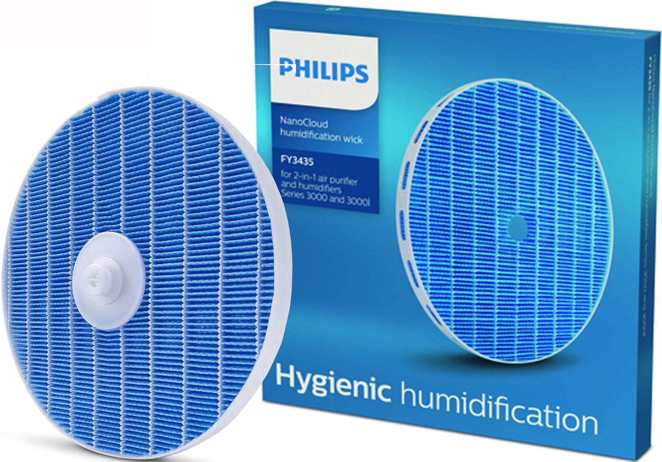 Philips NanoCloud Befeuchtungselement FY3435/30, für 2-in-1 Luftreiniger und -befeuchter der Serien 3000 und 3000i