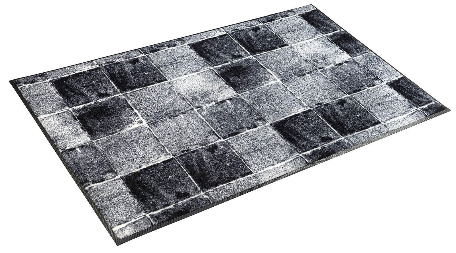 Läufer »Carella«, wash+dry by Kleen-Tex, rechteckig, Höhe 7 mm