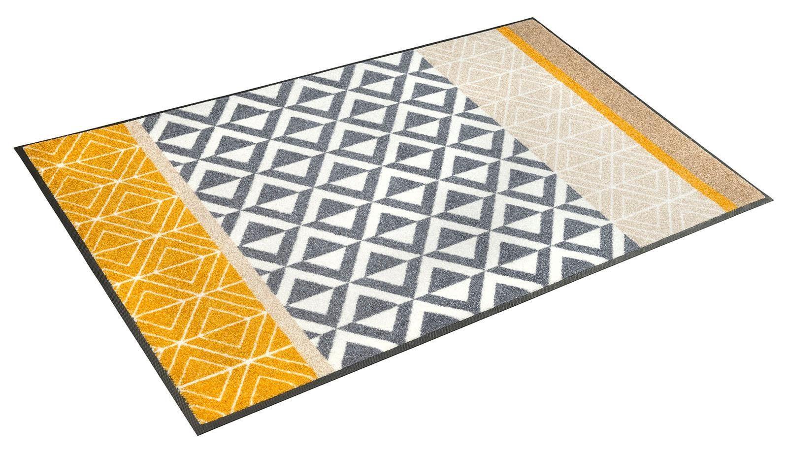 Teppich »Alvar«, wash+dry by Kleen-Tex, rechteckig, Höhe 7 mm
