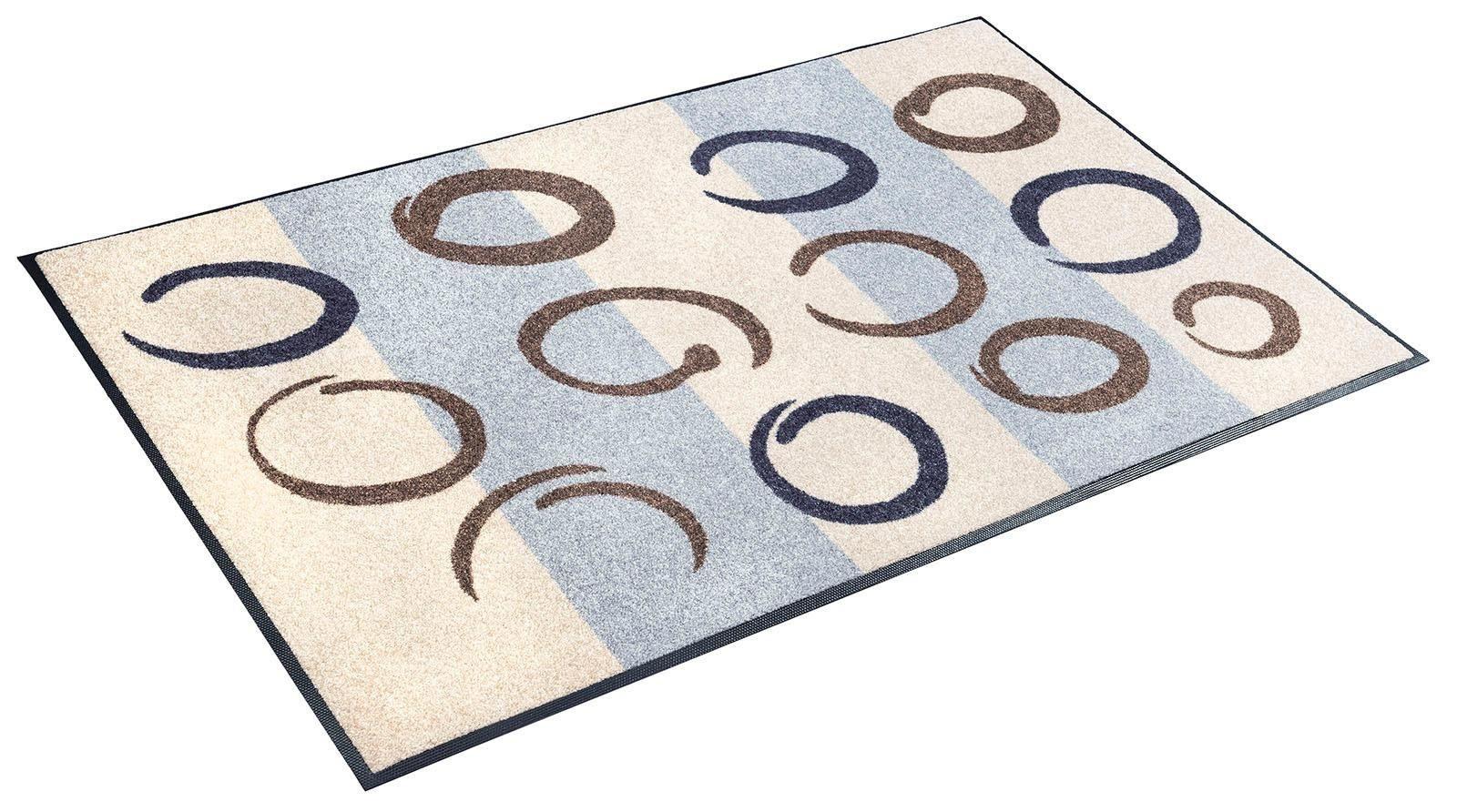 Teppich »Bellona«, wash+dry by Kleen-Tex, rechteckig, Höhe 7 mm