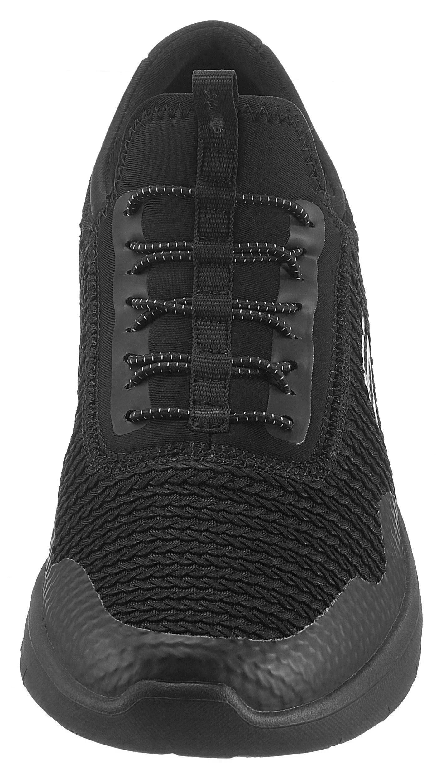 Skechers Synergy 20 - Mirror Image Slip-On Sneaker, in Flechtoptik online kaufen  schwarz