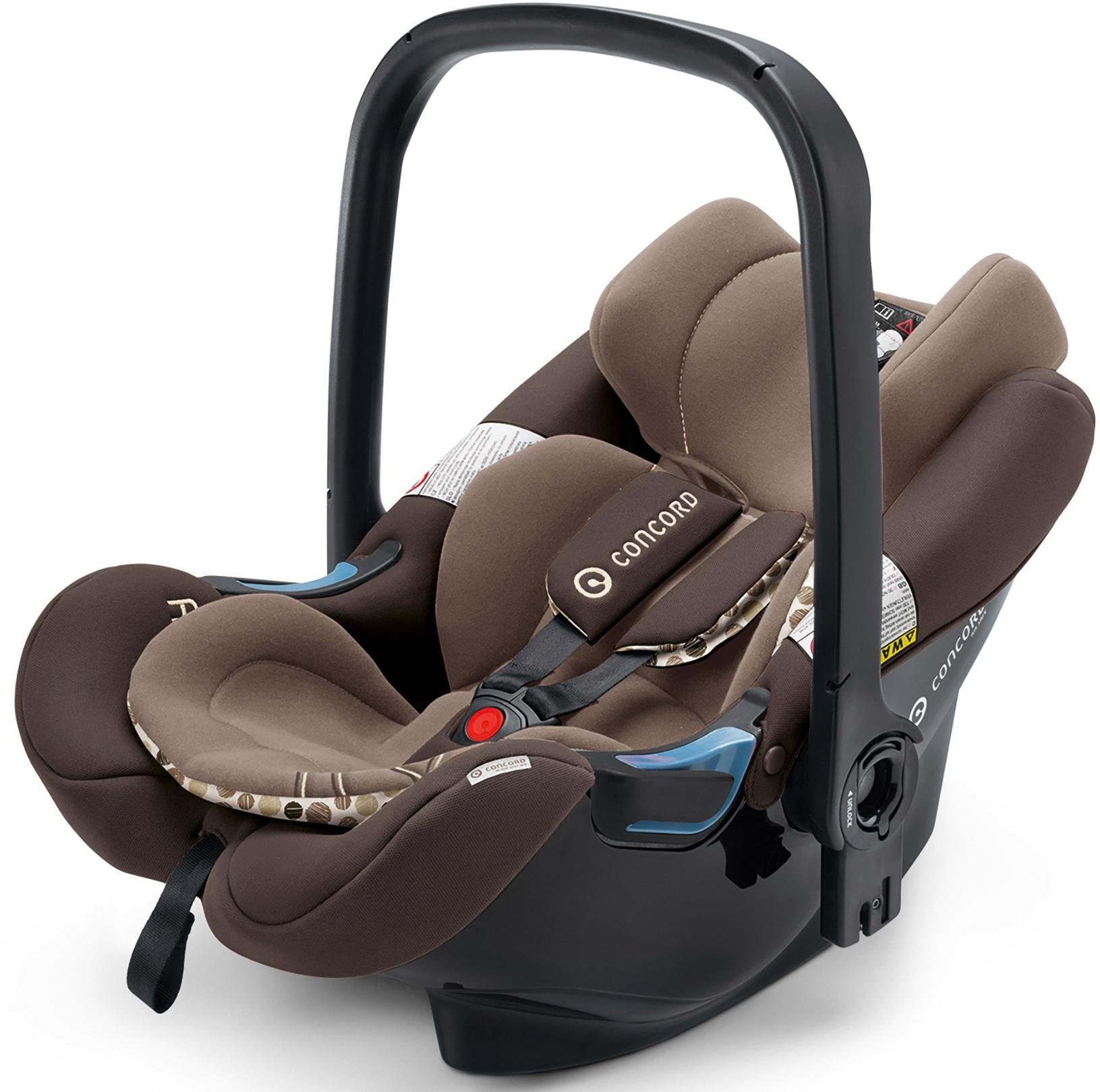 Concord Babyschale, 0-13 kg, »Air.Safe, Toffee Brown«