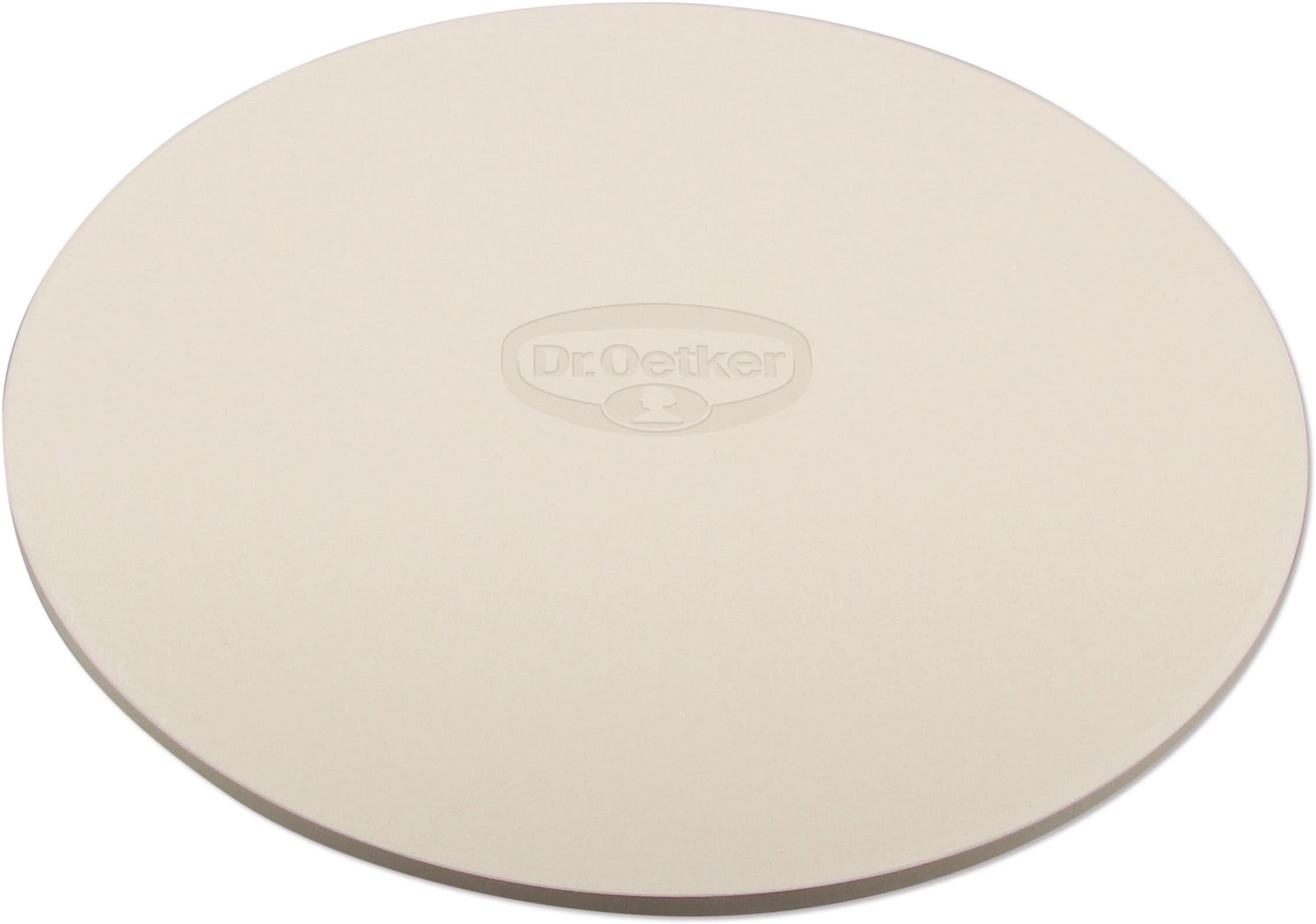 Dr. Oetker Pizzastein, Keramik, Ø 33 cm