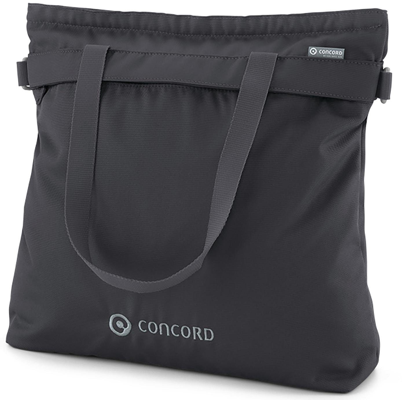 Concord Wickeltasche mit Wickelunterlage, »Shopper, Cosmic Black«