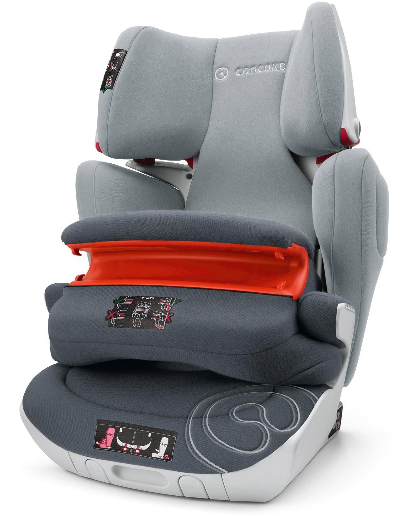 Concord Kindersitz, 9-36 kg, »Transformer XT Pro, Graphite Grey«