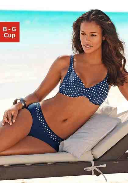 LASCANA Bügel-Bikini mit modischen Punkten