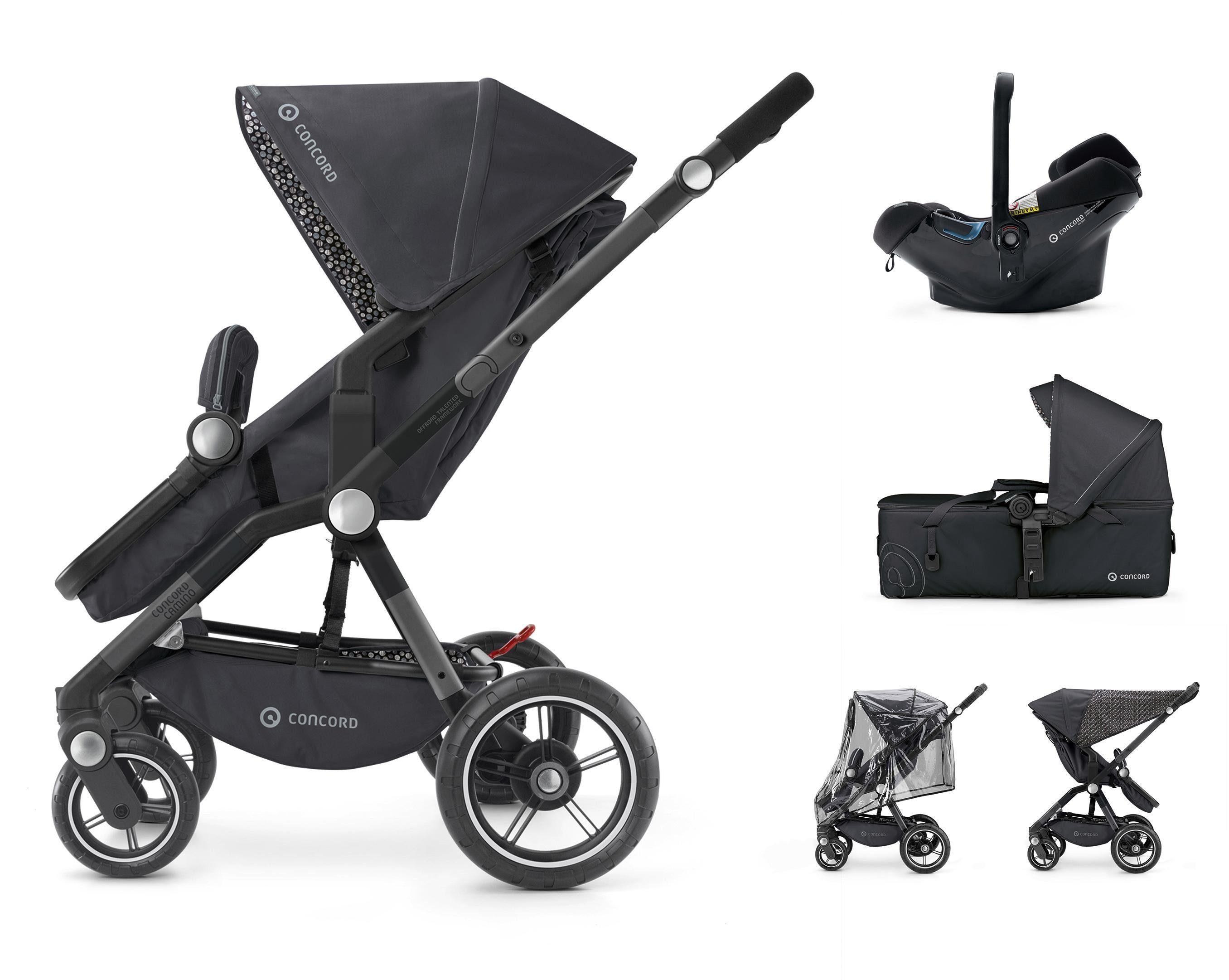Concord Kombi-Kinderwagen inkl. Babyschale, »Camino Mobilityset«
