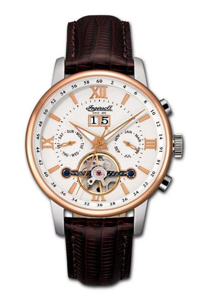 """Ingersoll, Automatikuhr, """"Grand Canyon IV, IN6900RWH"""" in braun"""