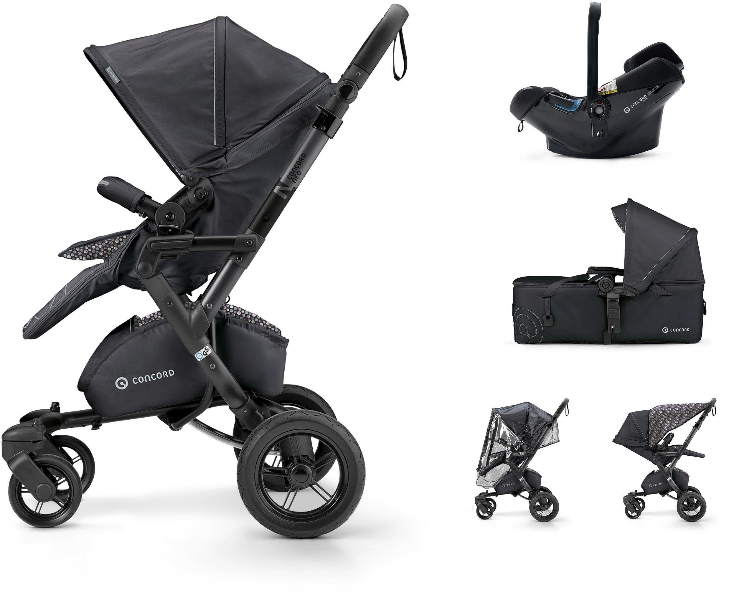Concord Kinderwagen inkl. Babyschale, »Neo Mobilityset, Cosmic Black«