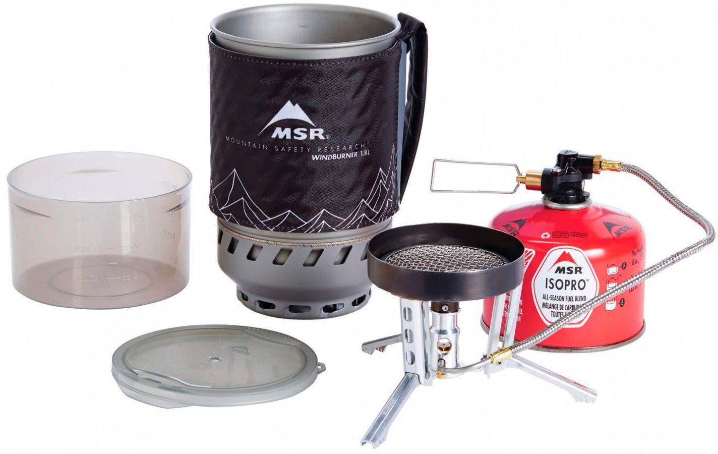 MSR Camping-Kocher »WindBurner Duo System«