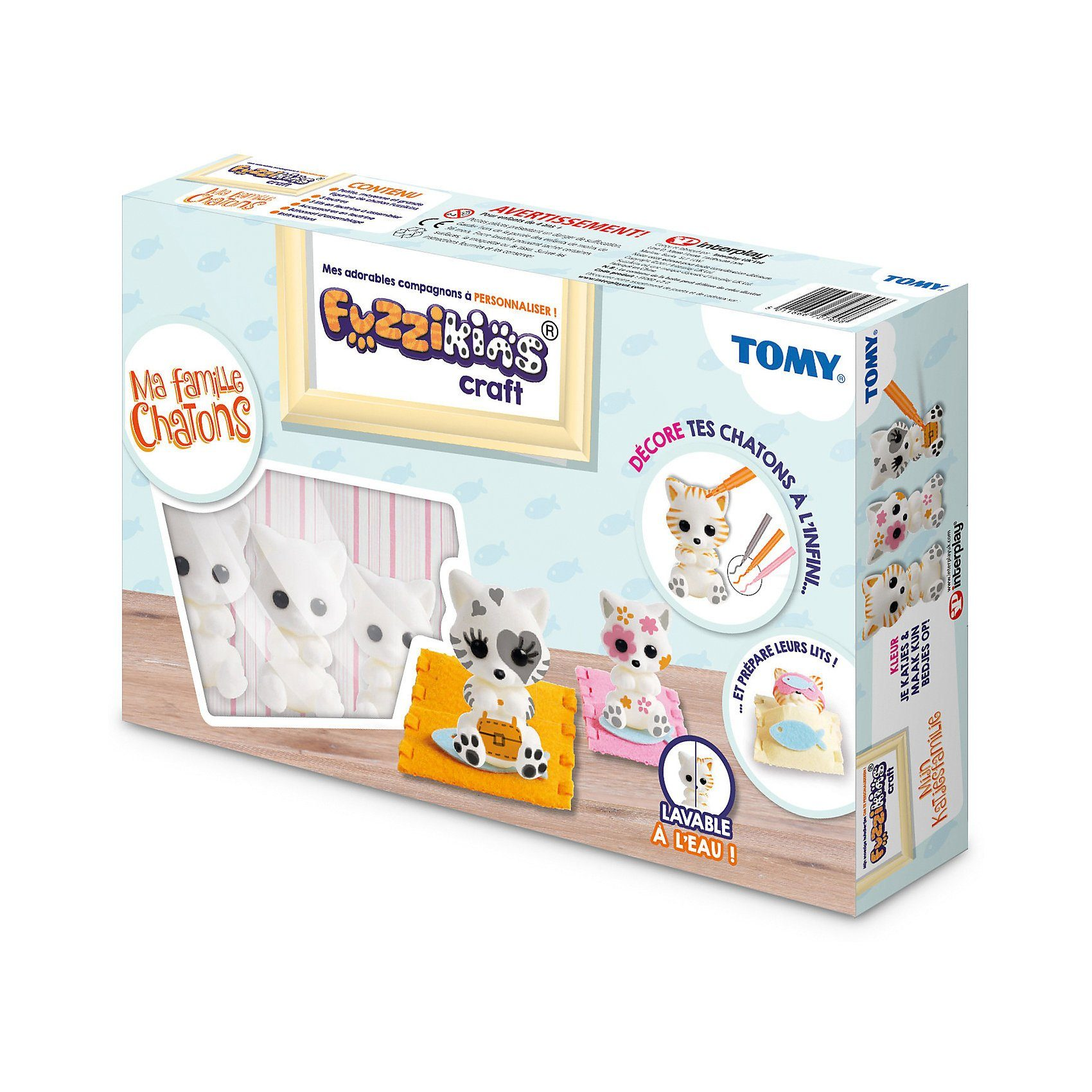 Tomy® Fuzzikins - Cozy Cats
