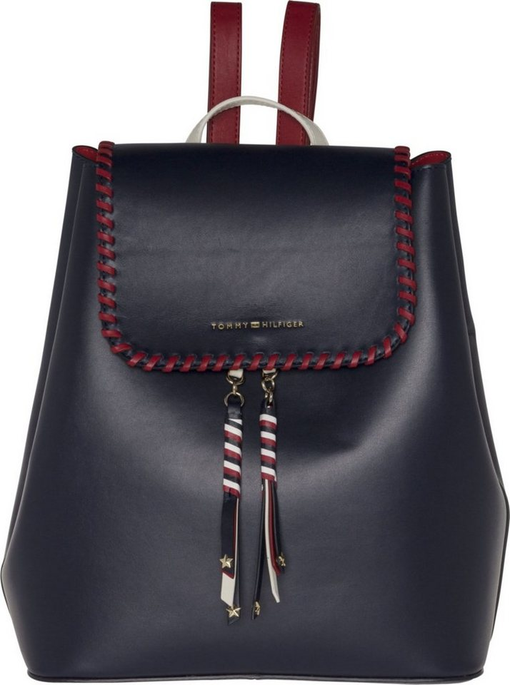 tommy hilfiger tasche stitch leather backpack otto. Black Bedroom Furniture Sets. Home Design Ideas