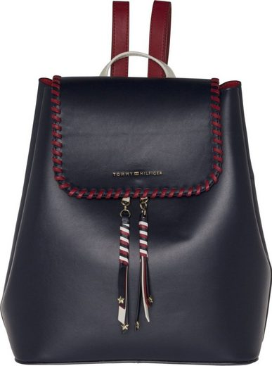 Tommy Hilfiger Tasche »STITCH LEATHER BACKPACK«
