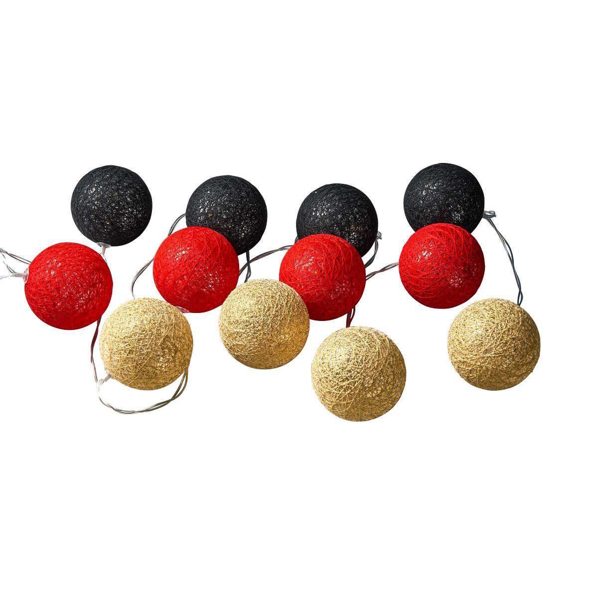 BUTLERS CHAMPION LIGHTS »Cotton Ball Lichterkette«