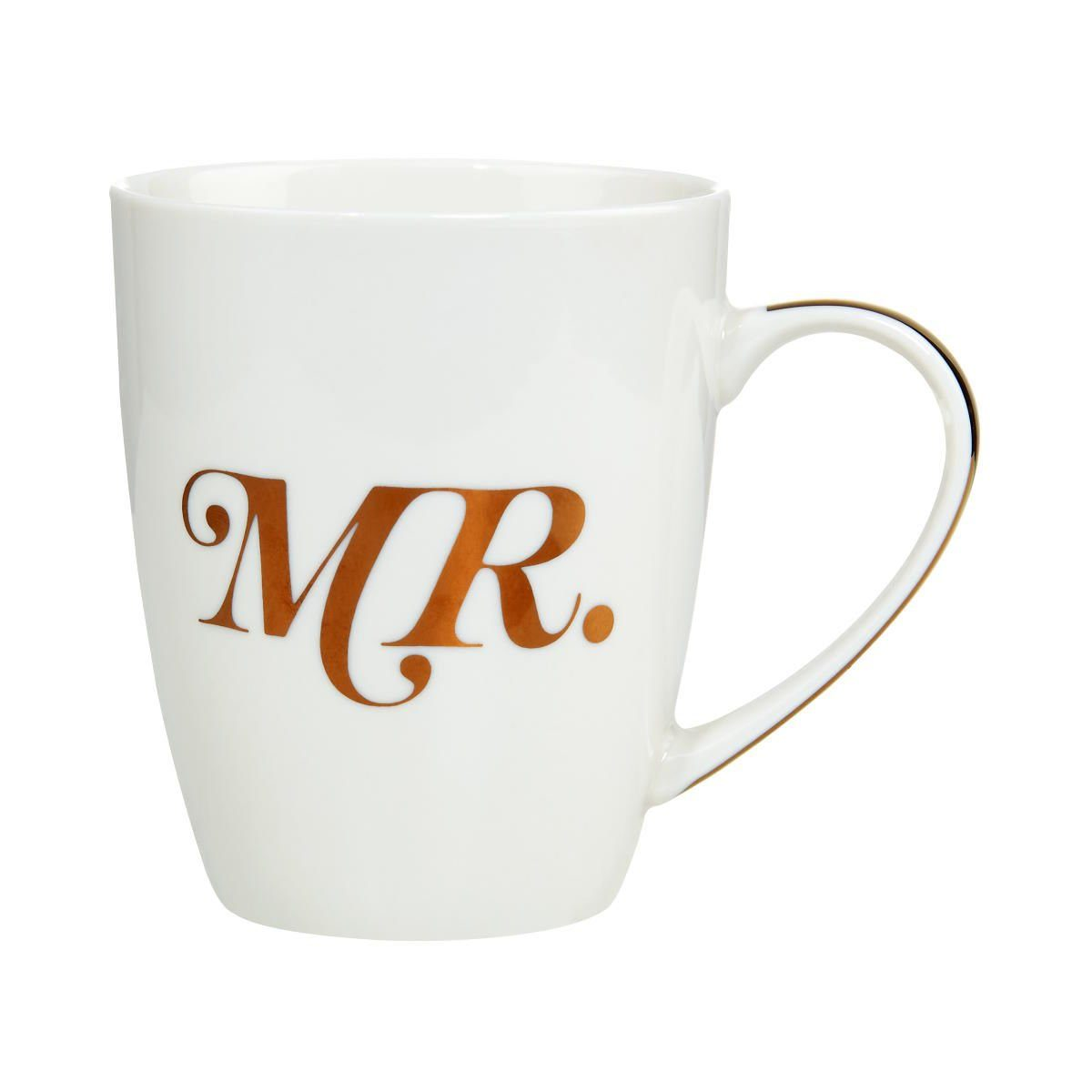 BUTLERS MR.& MRS. »Tasse Mr. mit goldenem Griff«