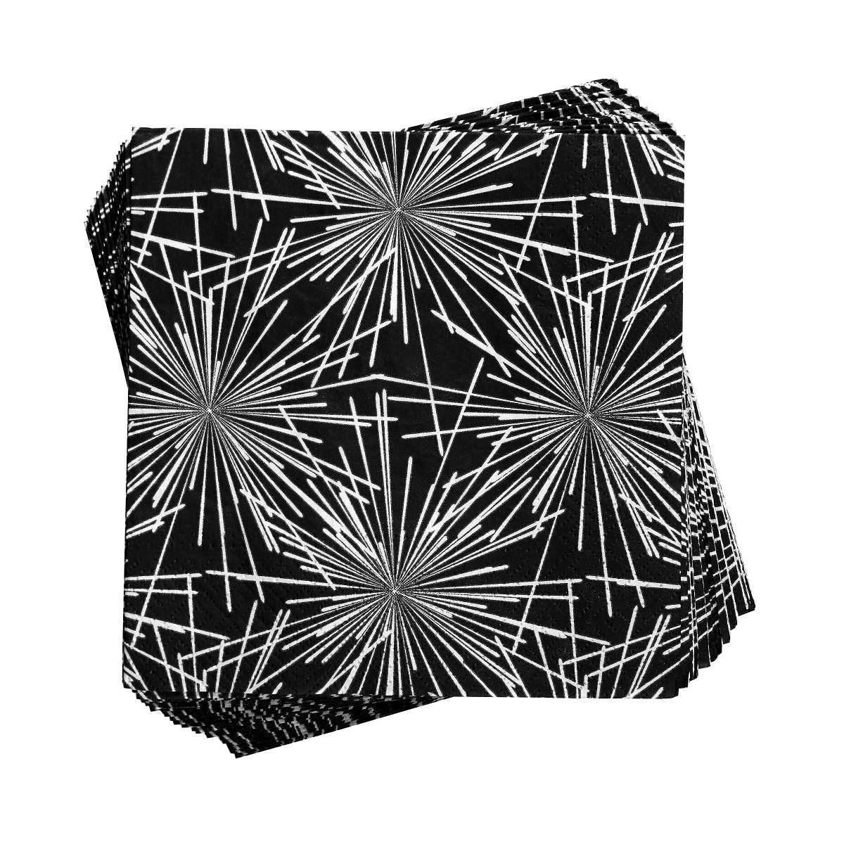 BUTLERS APRÈS »Papierserviette Silvester Feuerwerk«