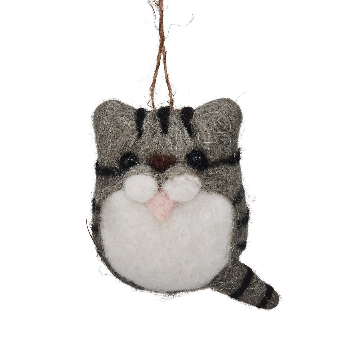 BUTLERS HANG ON »Filzanhänger Katze«