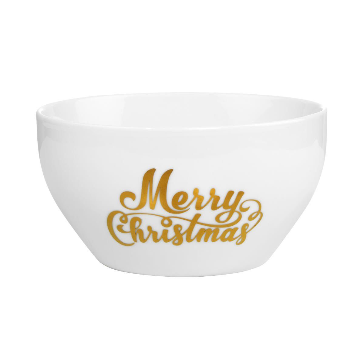 BUTLERS WHITE XMAS »Schale Merry Christmas«