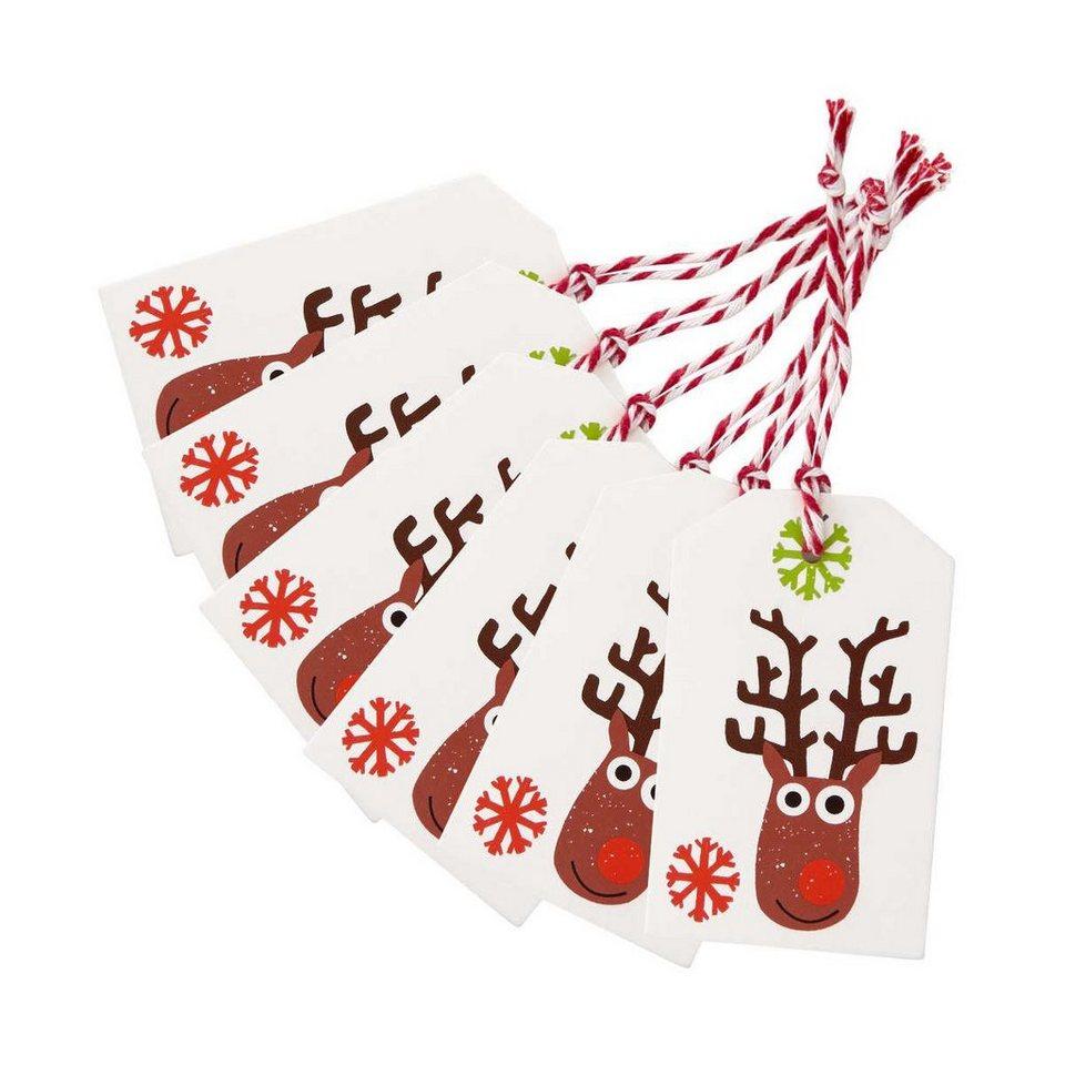 Butlers x mas geschenkanh nger mad rudolph 6er set online kaufen otto - Butlers weihnachten ...
