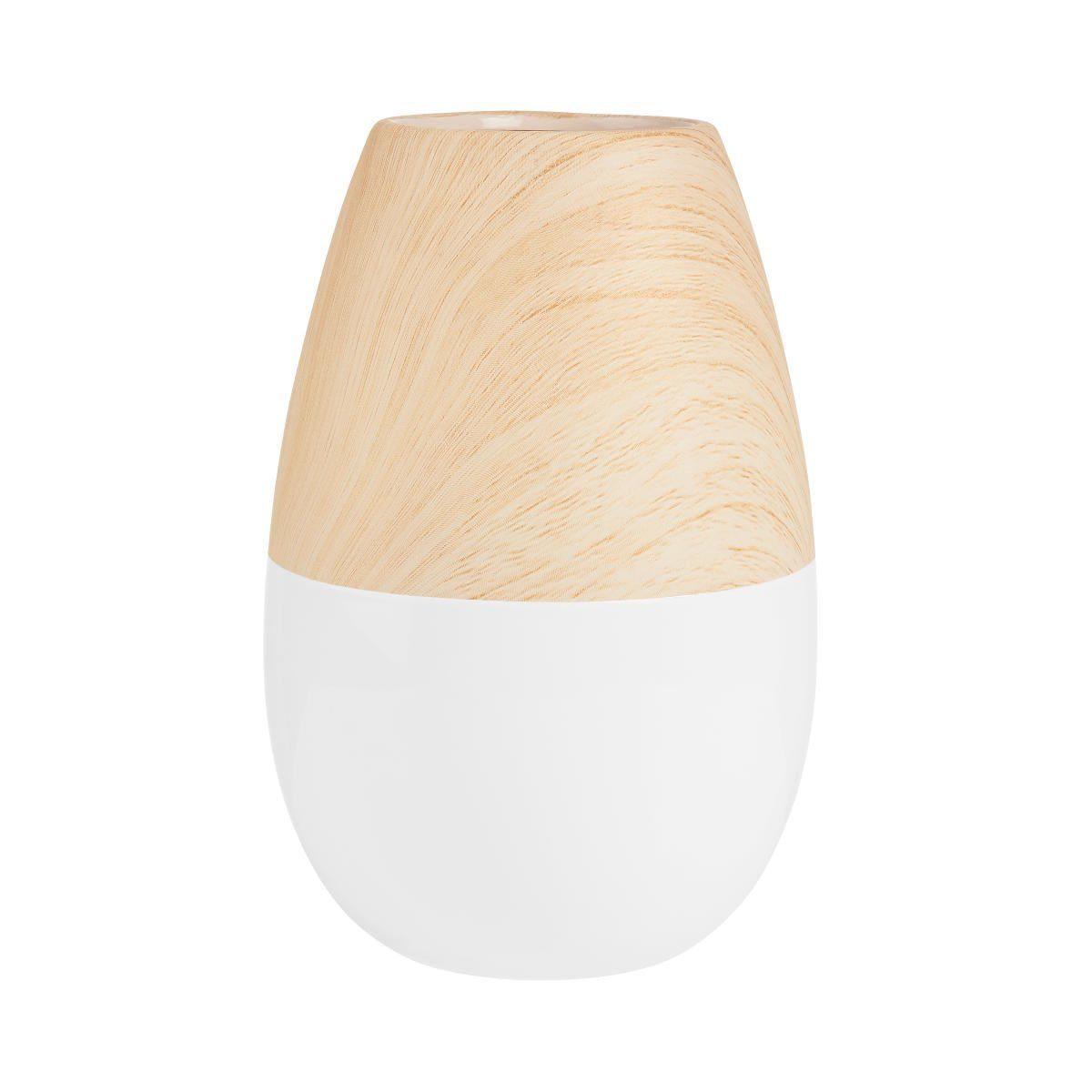 BUTLERS PASTELLO »Vase Holzoptik 19,5 cm«