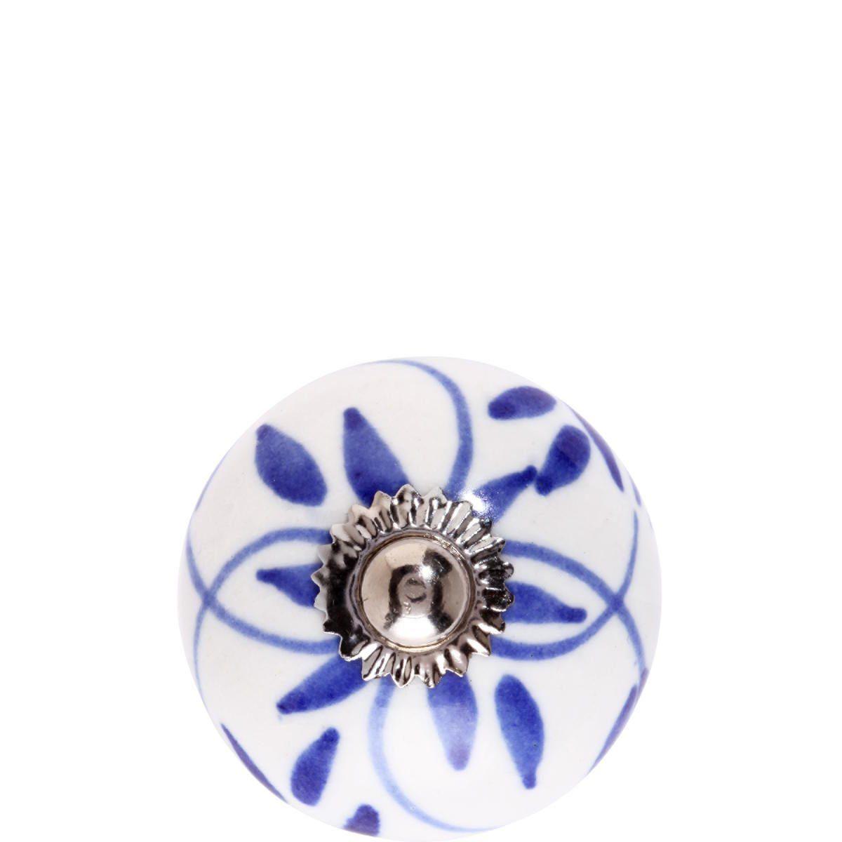 BUTLERS OPEN »Keramik Möbelknopf Ornament«