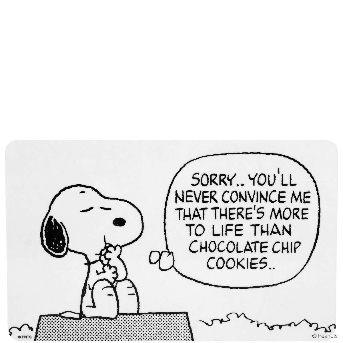 BUTLERS PEANUTS »Frühstücksbrettchen Snoopy/Sorry«