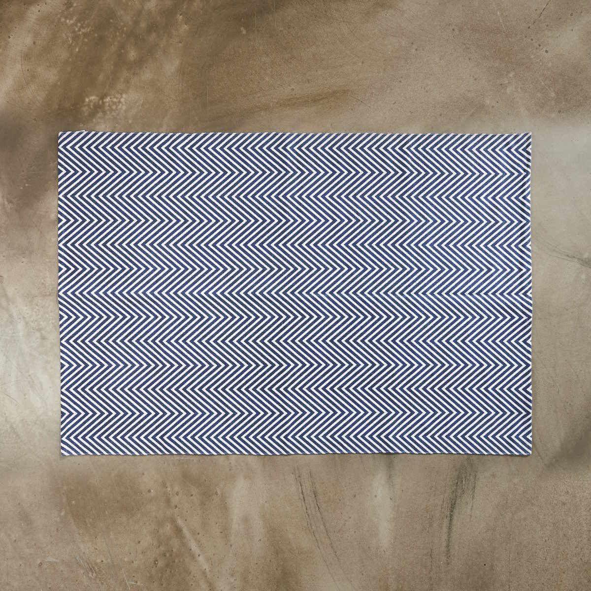 BUTLERS SILENT DANCER »Teppich Fischgrät 120x170 cm«