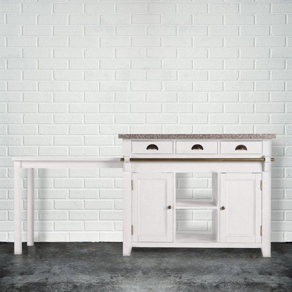 BUTLERS MAPLE HILL »Küchenblock mit Granitarbeitsplatte« online ...