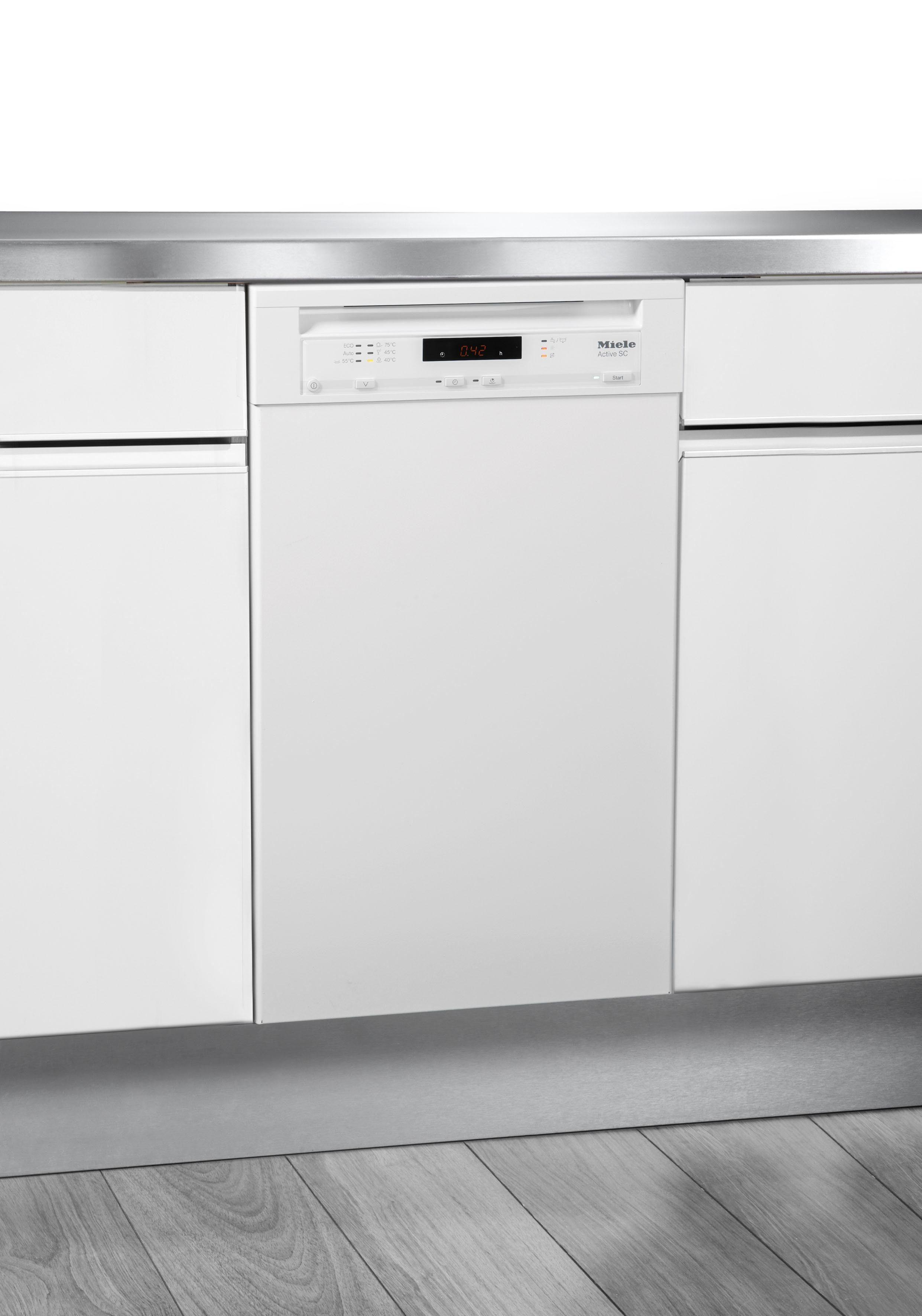 Miele Unterbaugeschirrspüler, G 4620 SCU brws, 0,87 l, 9 Maßgedecke, 45 cm breit