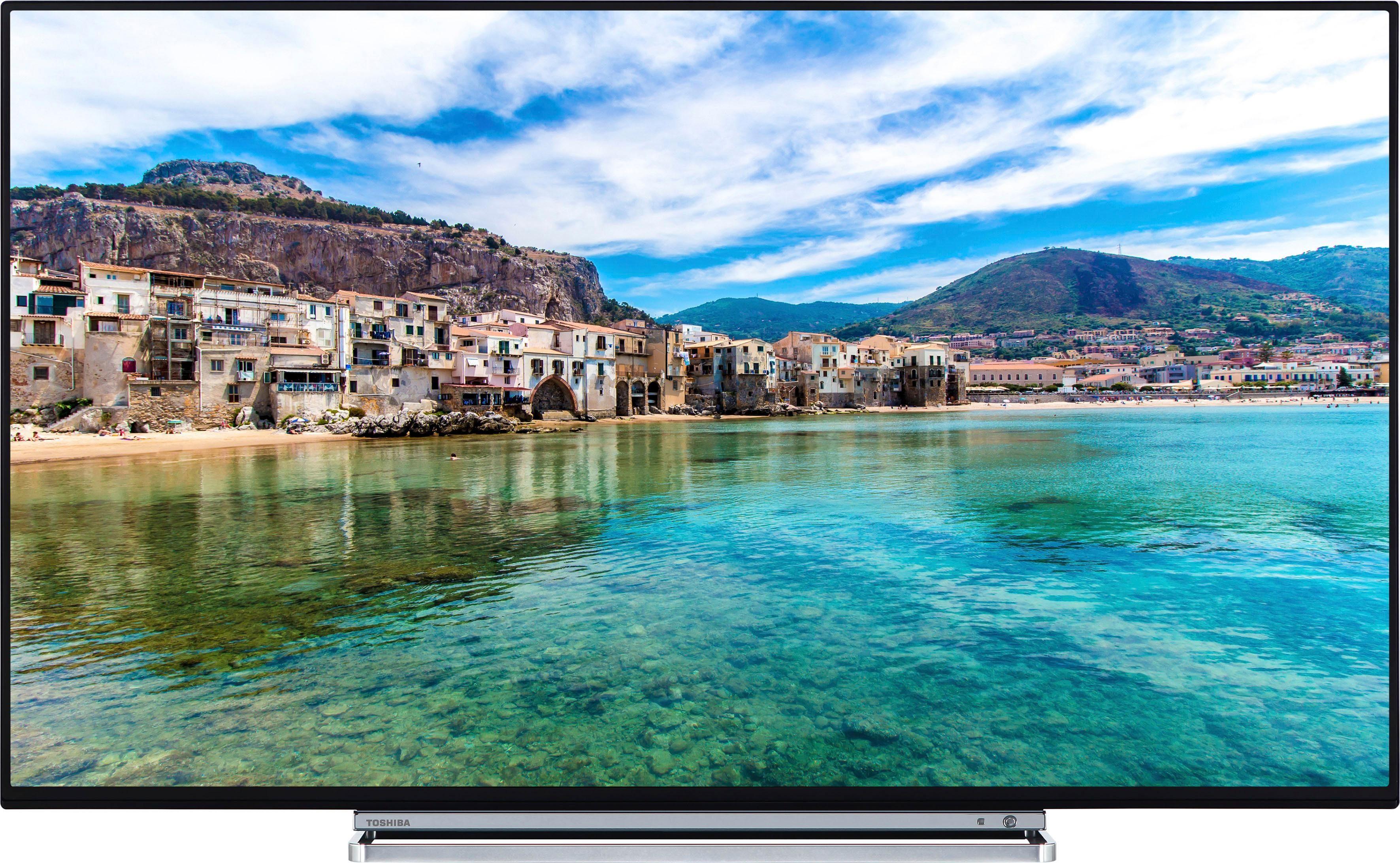 Toshiba 55U5863DA LED-Fernseher (55 Zoll, 4K Ultra HD, Smart-TV, Dolby Vision HDR, HDR10, HLG)