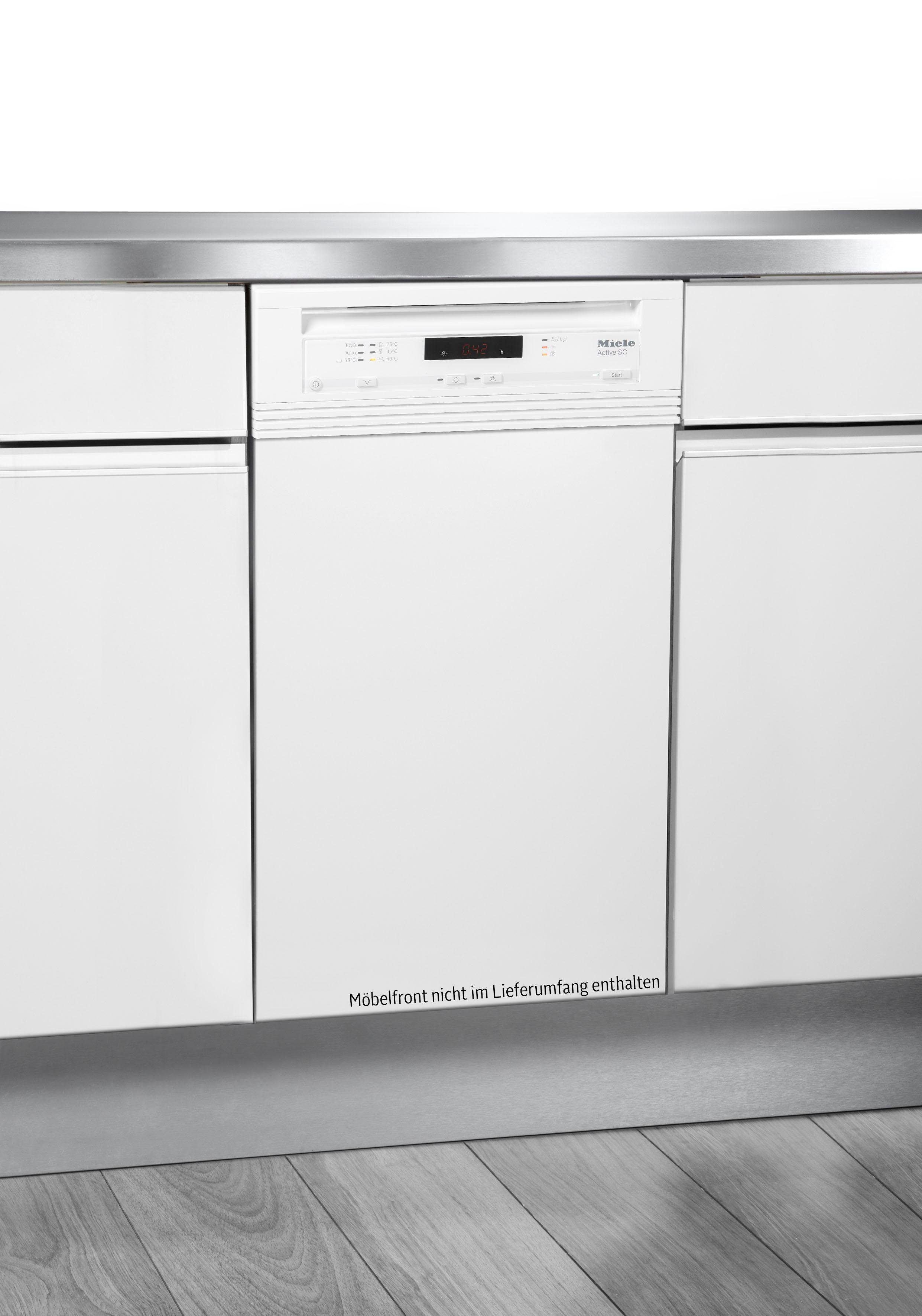 Miele teilintegrierbarer Geschirrspüler, G 4620 SCi brws, 0,87 l, 9 Maßgedecke, 45 cm breit