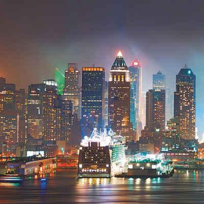Home Affaire Glasbild »New York City Times Square«, Stadt