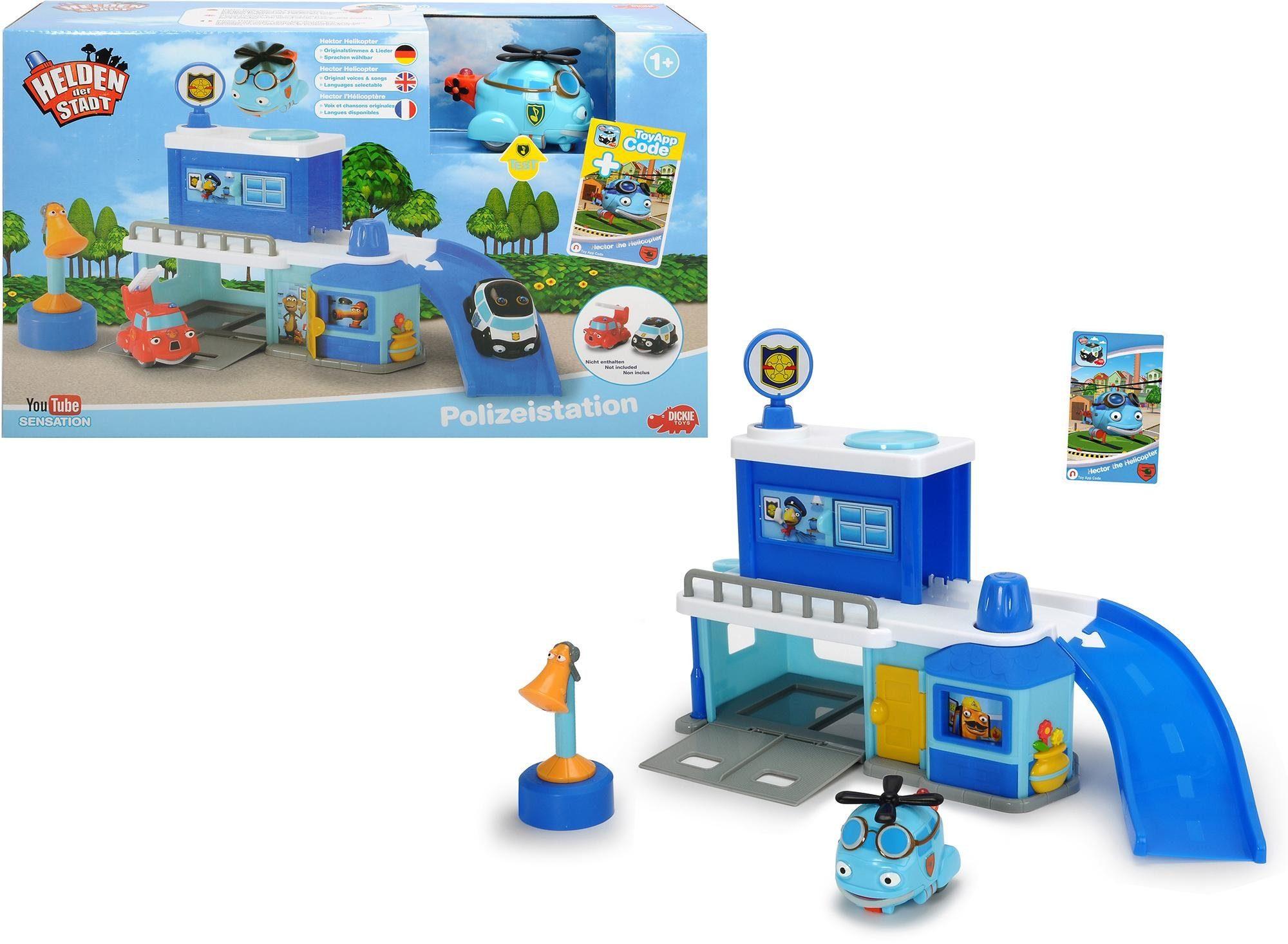 Dickie Toys Spielset, »Creatix Farm Playset - Helden der Stadt«