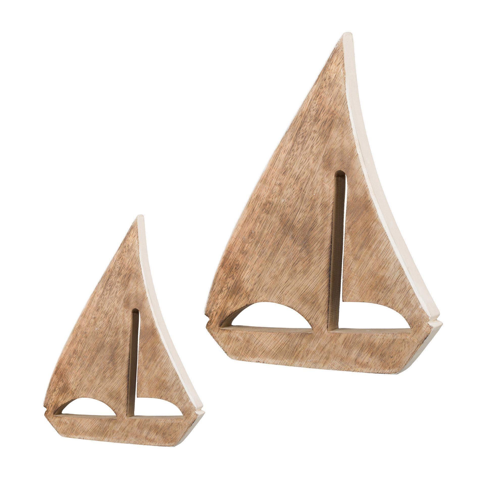 Holz Segelboot stehend »SAILOR« (2er Set)