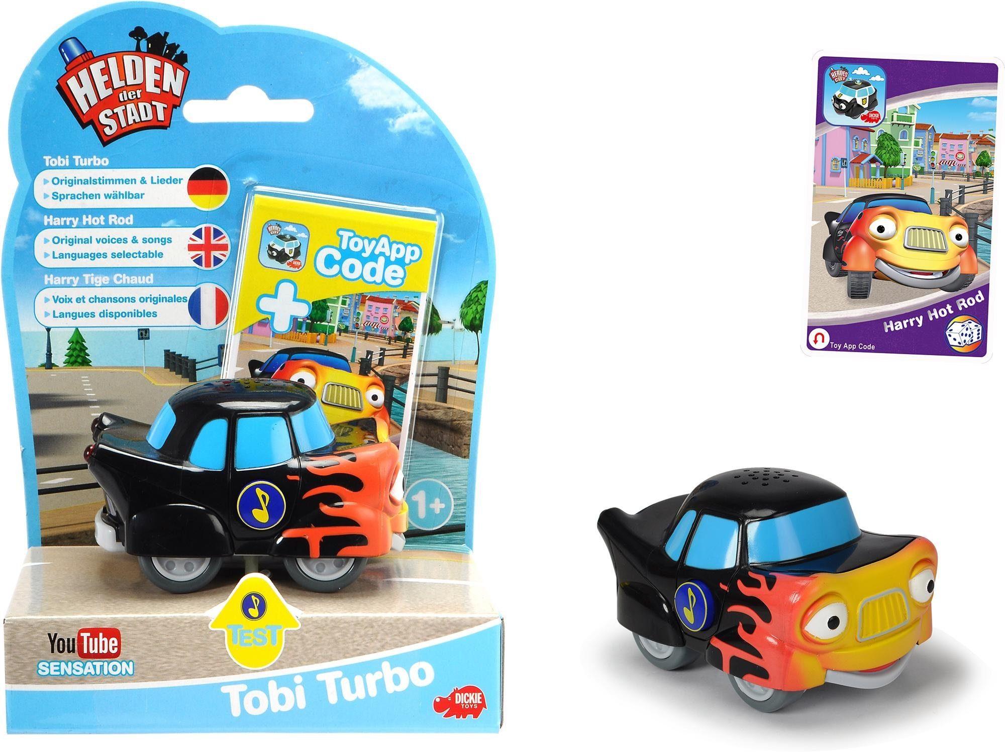 Dickie Toys Spielfahrzeug, »Helden der Stadt, Tobi Turbo«